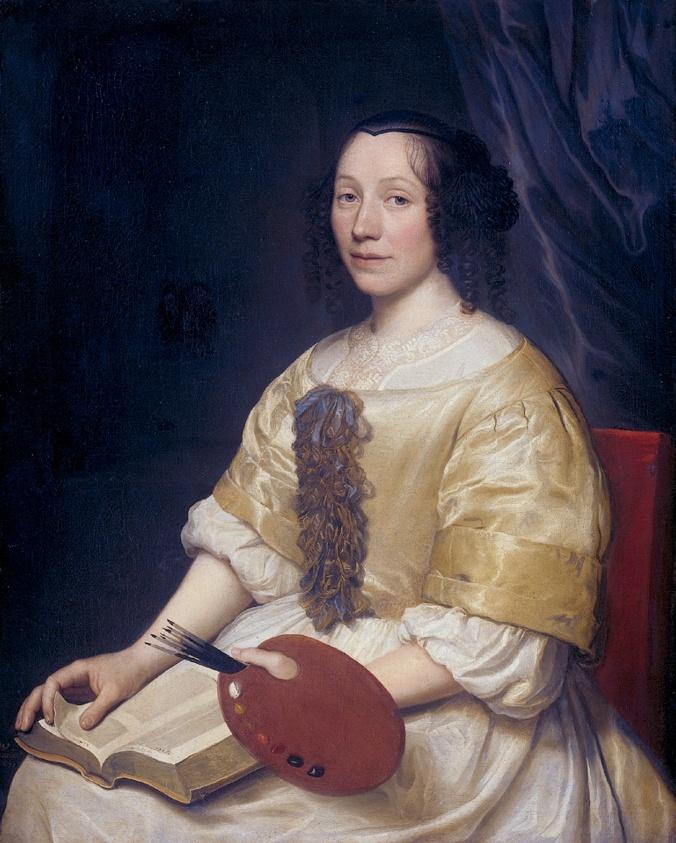 Wallerant_Vaillant_-_Maria_van_Oosterwijck_1671